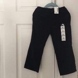 The Children's Place black flat front khakis 3T